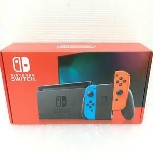 gg299 送料無料!美品 ニンテンドースイッチ 本体 Nintendo Switch Joy-Con(L) ネオンブルー/(R) ネオンレッド