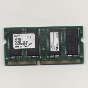 mt716/NEC Samsung chip Note PC for PC133 256MB / moving . settled