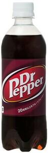 ドクターペッパー 500ml 24本 (24本×1ケース) PET ペットボトル 炭酸飲料 コカ・コーラ Coca-Cola【送料無料】