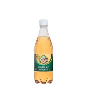 カナダドライ ジンジャエール 500ml 24本 (24本×1ケース) PET ペットボトル 炭酸飲料 ginger ale コカコーラ社【送料無料】