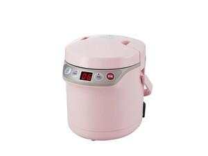 小泉成器 炊飯器 小型 ARCT105P マルチクッカー ピンク コイズミ