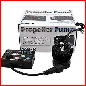(SW8(8000L/H)) ウェーブポンプ 水槽循環ポンプ マグネット吸盤 アクアリウム METIS 水流ポンプ 水中ポンプ 水槽ポンプ ワイヤレス