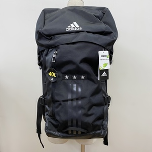 新品 未使用 アディダス adidas ブラック 黒 バックパック リュック (545-114)H21Y 1/2