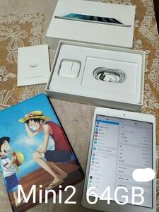 iPad mini 2 ディスプレイモデル 64GB Wi-Fi新品ケース付き
