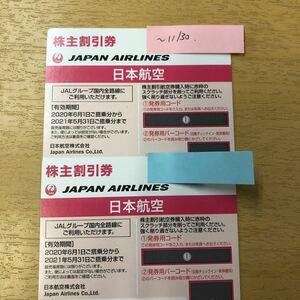 JAL 株主優待券 日本航空