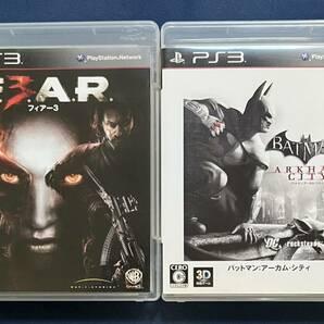 【動作確認済み】 PS3 FEAR3 フィアー3 バットマン アーカム・シティ 2点セット まとめ売り プレステ3 ワーナー・ブラザース WB