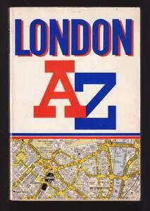 "☆""A-Z London―Street Atras ペーパーバック """