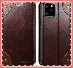 ☆注目☆激安1円スタートiPhone 11/ 11 Pro/ 11 Pro Max g5b5 手帳型 カバー 手帳 マグネット式 本革 レザー 財布型 携帯スマホケース