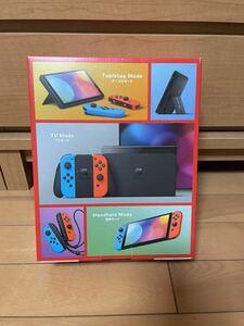 任天堂 Nintendo Switchニンテンドー スイッチ 有機ELモデル 本体 ネオンブルー・ネオンレッド 『新品、未使用』