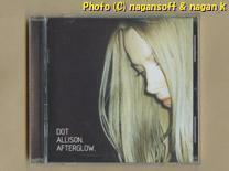 ★即決★ DOT ALLISON (ドット・アリソン) / AFTERGLOW -- 1999年発表ファーストアルバム。スコットランド出身シンガーソングライター