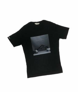 国内正規★ 1017 ALYX 9SM Nick Knight Givenchy MMW コラボ プリント クルーネック Tシャツ アリクス ★ S ブラック