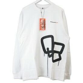 新品★ BLACK EYE PATCH 21SS SECT UNO L/S TEE プリント クルーネック Tシャツ カットソー BEPSS21TE01 ブラックアイパッチ M ホワイト