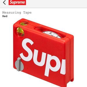 新品 半タグ付★ Supreme 17SS BMI Pocket Measuring Tape コラボ ロゴ ポケット メジャー コンベックス シュプリーム ★ レッド