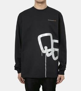 新品★ BLACK EYE PATCH 21SS SECT UNO L/S TEE プリント クルーネック Tシャツ カットソー BEPSS21TE01 ブラックアイパッチ M ブラック