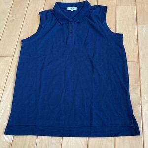 FadPeople◆◆袖なしポロシャツ レデース Lサイズ