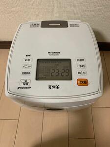 三菱炊飯器 一升炊き NJ-KSE184-W