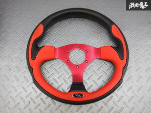 selling out!! there is no final result!! unused immediate payment stock have super-discount special price DAIKEI large . industry RALLY Rally steering gear steering wheel 320mm