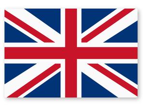【NEW】国旗ステッカーMサイズ(イギリス)@再帰反射タイプ 屋外耐候◎ レンジローバー イヴォーク ヴェラール ディスカバリー MINI ミニ