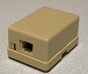 6極4芯 IDC-110 打ち込みローゼット