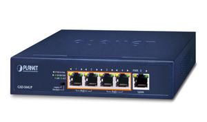 ウルトラPOE++ 5ポートギガビットスイッチングハブ GSD-504UP 802.3bt準拠最大90W