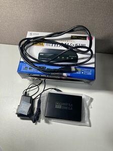 【未使用品】サンワサプライ 4K/60Hz HDR対応HDMI分配器 VGA-HDRSP2
