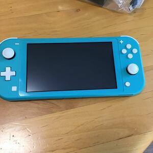 Nintendo Switch Lite ターコイズ 専用ポーチ付き