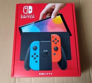 【新品未使用】Nintendo Switch 有機ELモデル 任天堂 ニンテンドースイッチ 本体 Joy-Con ネオンブルー ネオンレッド スイッチ 有機EL