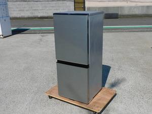 【2020年/正常動作品】AQUA 2ドア冷蔵庫 AQRJ13J 130L ガラス棚 中は美品 中古 動作保証 小型 単身 2人暮らし 清掃済み 家庭用
