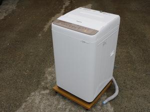 【正常動作品/静か】Panasonic 全自動洗濯機 NA-F70PB10 2017年 7kg 抗菌加工ビッグフィルター 中古 大型 大きめ 清掃済み