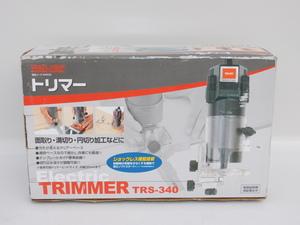 【あまり使っておらず/送料無料】RELIEF トリマー RS-340 チャック能力6mm 100V 30000min 面取り・溝切り・円切り加工 中古
