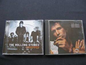 ローリング・ストーンズ キース・リチャード THE ROLLING STONES KEITH RICHARDS CD2枚  送料無料