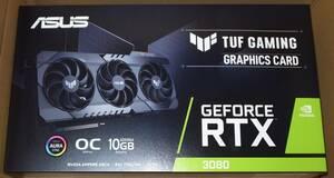 新品 送料無料 ASUS TUF-RTX3080-O10G-GAMING GeForce RTX 3080 非LHR NON-LHR