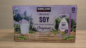 p21 カークランドシグネチャー 有機豆乳 オリジナル 946ml x 12パック 有機調整豆乳 オーガニック コストコ