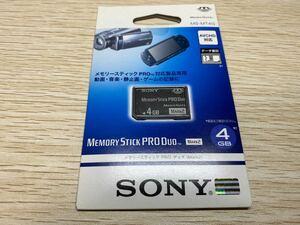 ソニー SONY メモリースティック PRO DUO 4GB