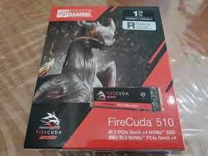 Seagate FireCuda 510 M.2 1TB 読取速度3450MB/書込速度3100MB 内蔵SSD 3D TLC ZP1000GM3A011