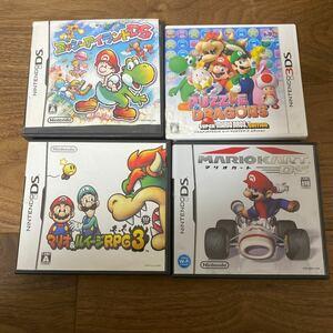 3DS DS ソフト マリオシリーズをまとめて
