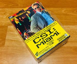 ◆DVD◆[CSI:マイアミ SEASON3 BOX2] 12話収録(シュリンク残り美品)◆