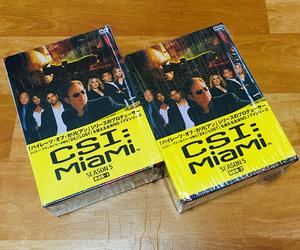 ◆DVD◆[CSI:マイアミ SEASON5] 全24話収録BOX1&2(シュリンク残り美品)◆