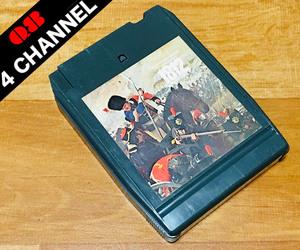 ◆8トラック(8トラ)◆(Q8 QUAD 4チャンネル) オーマンディ [TCHAIKOVSKY:1812 OVERTURE]◆
