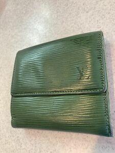 ルイヴィトンLOUIS VUITTONエピ二つ折り財布