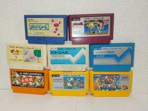 8本セット 送料無料 ジョイメカファイト スパルタンX スーパーマリオブラザーズ3 プーヤン ファミコンソフト カセット まとめ ジャンク