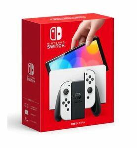 ■新品未使用品■Nintendo Switch ニンテンドー スイッチ 本体(有機ELモデル) Joy-Con(L)/(R) ホワイト■保証付