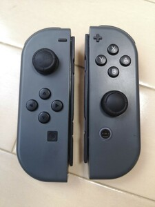 Nintendo Switch Joy-Con (L) /(R) 任天堂スイッチジョイコン 左右 グレー 中古品
