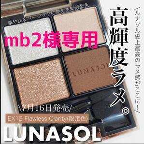 【mb2様専用】ルナソル アイカラーレーション EX12【限定色】