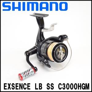 良品 SHIMANO 11 エクスセンス LB SS C3000HGM スピニングリール 02886 最大ドラグ力8kg ギア比6.0 収納袋付属 シマノ EXSENCE