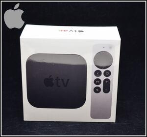 新品未開封 Apple TV 4K 64GB リモコン付き 第2世代 MXH02J/A A2169 2021年モデル HDR画質 アップル