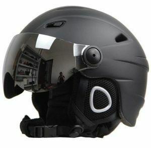 新品 フリース ヘルメット スノーモービル 人気★ 暖かい ゴーグルバイザー スノーボードヘルメット ★スキーヘルメRU86