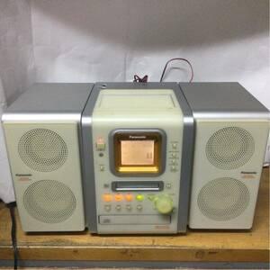Panasonic MD/カセット/CDコンポ SA-PM35MD パナソニック MDステレオシステム