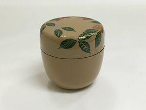 茶道具 新品 中棗 白塗『 キララリース 』プラスチック製
