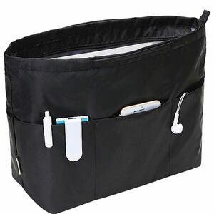 クラシック型 バッグインバッグ トートバック用 収納バッグインナーバッグ